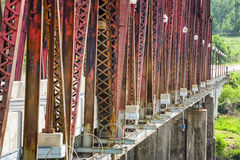 Plattsmouth Bridge Stock Image