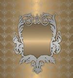 platyna złocisty rocznik Zdjęcia Royalty Free
