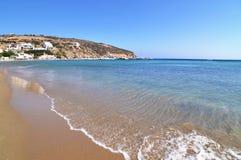Platys Gialos beach Sifnos Greece stock images