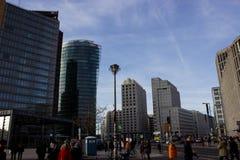 Platz de Potsdamer em Berlim Fotos de Stock Royalty Free