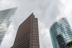 Platz de Potsdamer em Berlim, Alemanha Fotos de Stock Royalty Free
