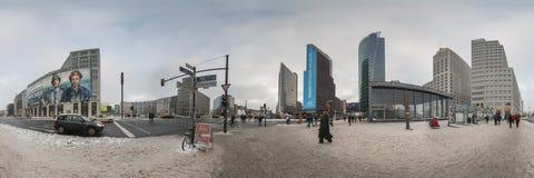 Platz de Potsdamer en Berlín, Alemania Fotografía de archivo