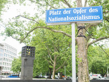 Platz der Opfer des Nationalsozialismus Royalty Free Stock Image