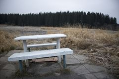 Platz für Einsamkeit Lizenzfreies Stockfoto