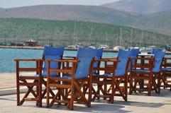 Platz für Entspannung in Itea Lizenzfreies Stockbild