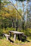 Platz für Picknick Stockfotografie