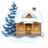 Platz für Winterferien Lizenzfreie Stockbilder