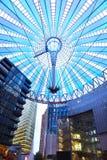 Platz Potsdamer, купол крыши в центре Сони, Берлин Стоковое фото RF