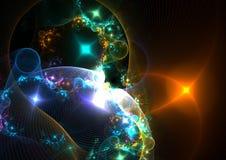 Platz und Universum Stockbilder