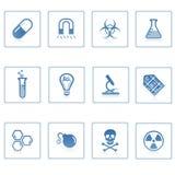 Platz- und Wissenschaftsikone II Lizenzfreie Stockbilder