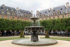 Platzieren Sie DES Vosges, Paris, Frankreich Stockbild