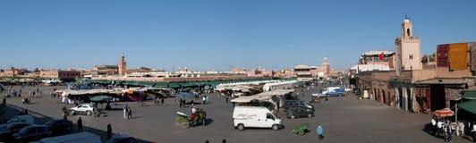 Platzieren Sie EL-fna Marrakesch Marokko lizenzfreie stockfotografie