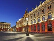 Platzieren Sie Stanislas, Nancy, Frankreich Stockbild