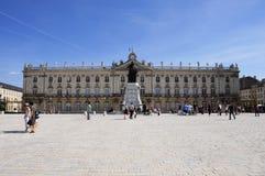 Platzieren Sie Stanislas (Nancy - Frankreich) Stockfotografie