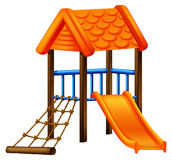 A play area at the park Royalty Free Stock Images