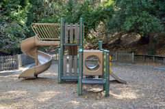 Play area at Twin Pines Park, Belmont Stock Photo