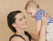 Play with baby Royalty Free Stock Photo