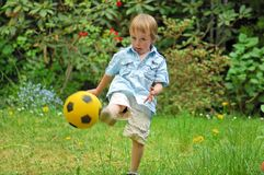 Play the ball Royalty Free Stock Photography
