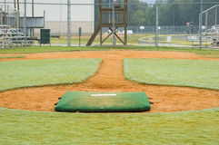 Play Ball. Baseball field Stock Photo