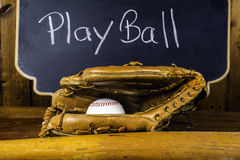 Play Ball Royalty Free Stock Photos