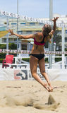 Play beach volley roma Royalty Free Stock Photos