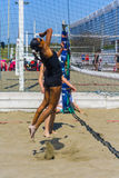 Play beach volley roma Royalty Free Stock Photos