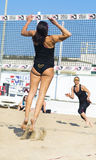 Play beach volley roma Stock Image