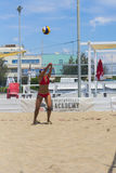 Play beach volley roma Royalty Free Stock Images