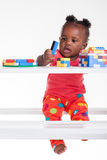 Play before bed time royalty free stock photo