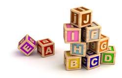 Play Blocks. (computer generated image stock illustration