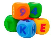Play blocks Stock Photography