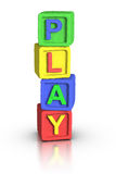 Play Blocks : PLAY Stock Photos