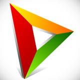 Play button / generic arrow, pointer, cursor icon or logo Royalty Free Stock Photo