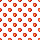 Play button pattern, cartoon style Stock Photo