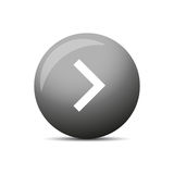 Play button round Royalty Free Stock Photography