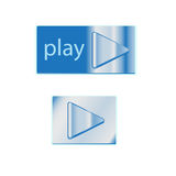 Play button Royalty Free Stock Image