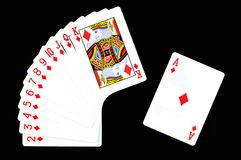 Play card. Royalty Free Stock Photos