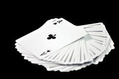 Play card. Royalty Free Stock Image