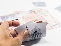 Play card Royalty Free Stock Images