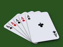 Play cards 10 Royalty Free Stock Photos