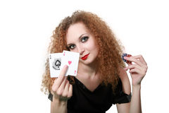 Play cards? Royalty Free Stock Images