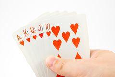 Play cards Stock Photography