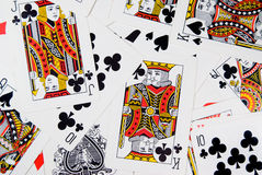 Play cards Stock Images