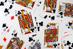 Play cards Stock Image