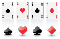 Play cards vector illustration