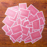 Play cards back texture Royalty Free Stock Photos