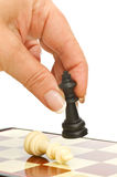 Play chess Royalty Free Stock Image