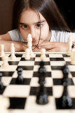 Play chess Royalty Free Stock Photography