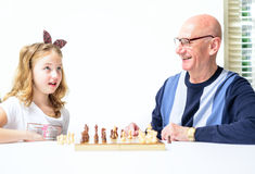 Play chess Royalty Free Stock Images