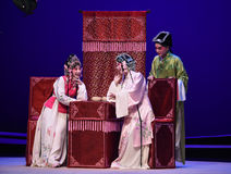 "Play chess -Kunqu Opera ""the West Chamber"" Royalty Free Stock Photos"
